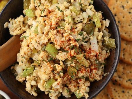 No Tuna Tempeh Salad   Lunch