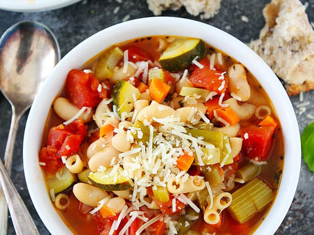 Easy Minestrone soup | Lunch