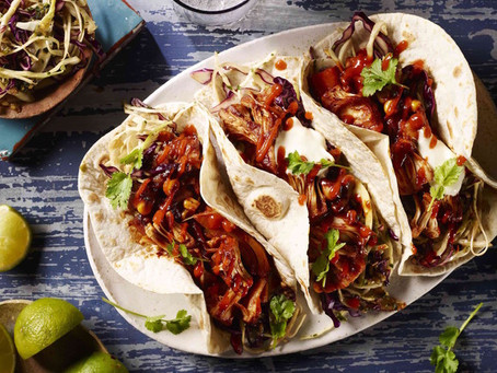 Pulled' Jackfruit Tacos | Dinner