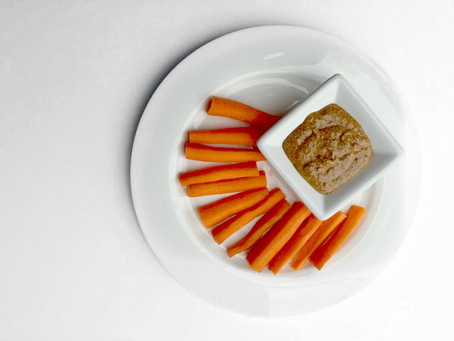 Carrots And Almond Butter | Snack