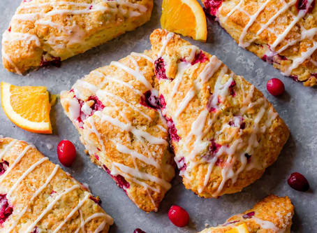 Cranberry And Orange Scones | Snack