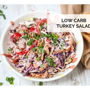 Low Carb Turkey Salad  Keto Recipe
