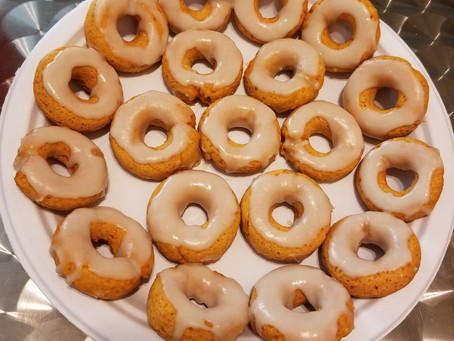 Mini Maple Donuts | Dessert