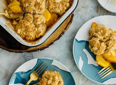 Peachy Keen Cobbler | Dessert