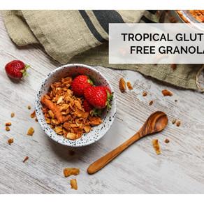 Tropical Granola   Gluten Free