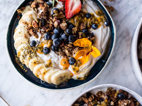Blueberry Muffin Granola | Breakfast