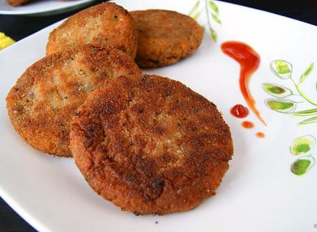 Veggie Potato Cutlets | Lunch | Snack
