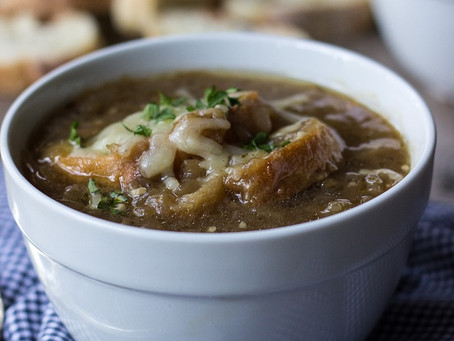 Caramelized Onion Soup | Lunch