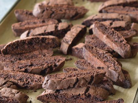 Cocoa Biscotti | Snack