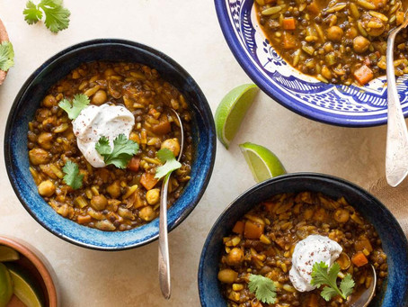 North African Chickpea Soup | Lunch