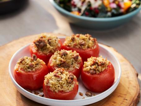 Italian-Style Stuffed Tomatoes | Side
