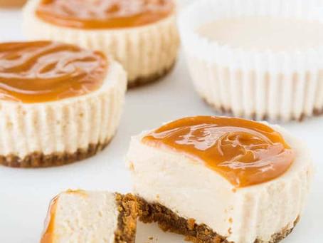 Caramel Chai Cheesecake | Dessert