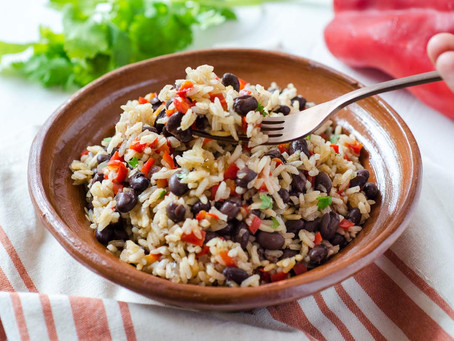 Costa Rican Rice and Beans | Lunch