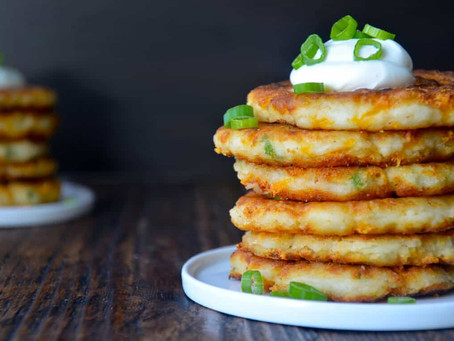 Mashed Potato Fritters | Snack