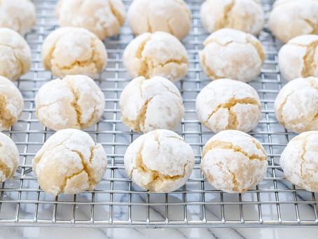 Amaretto Sugar Cookies | Snack