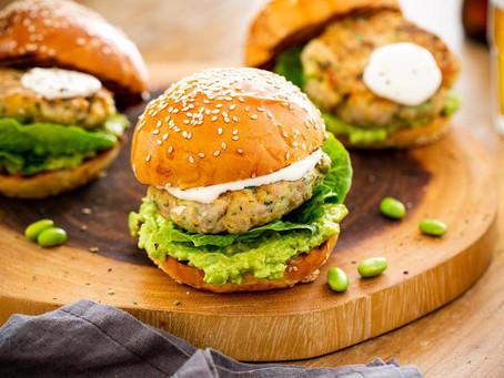 Tasty Edamame Burger | Dinner