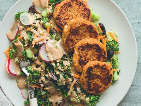 Potato Quinoa Patties | Lunch | Snack