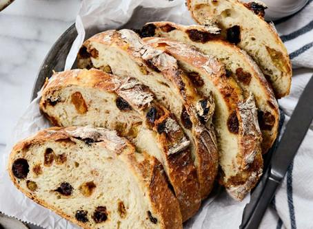 No - Knead Sweet Raisin Bread | Dessert