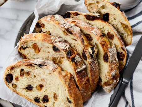 No - Knead Sweet Raisin Bread | Dessert