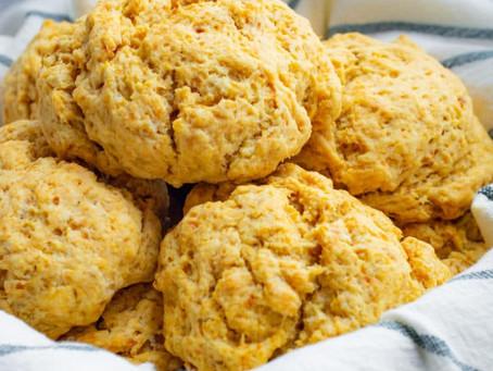 Sweet Potato Drop Biscuits | Snack