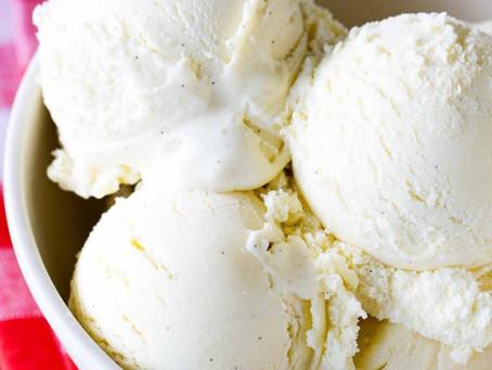 Homemade Vanilla Soft Serve Ice Cream | Dessert