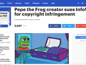 The Hill covers Pepe and Infowars