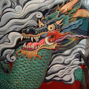 Dragon Mural, NYC