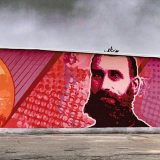 Iver Johnson Mural, 2018