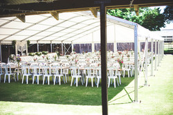 Macpherson Marquees Set Up