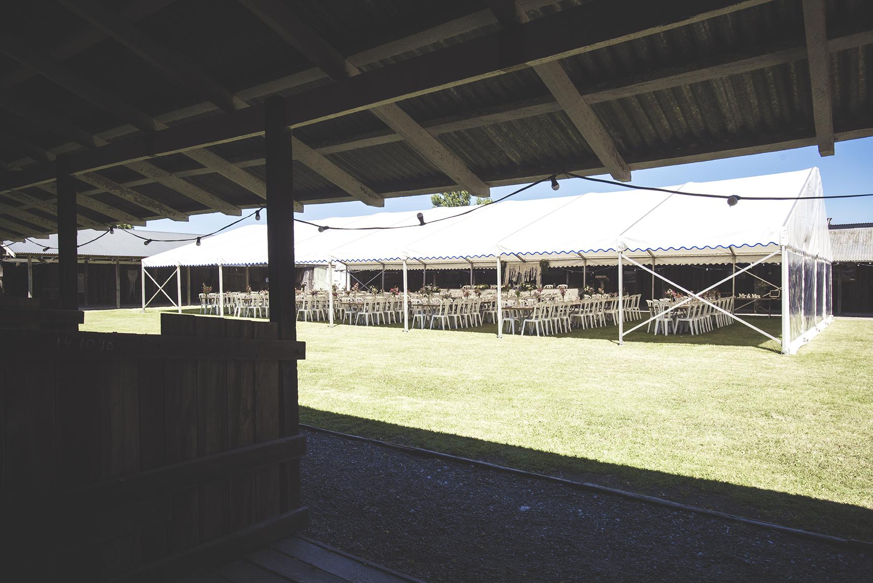 Gisborne Showgrounds Wedding
