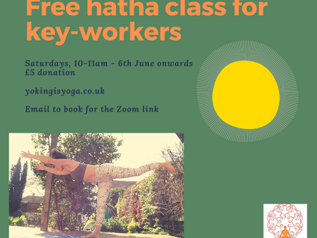 New live & online yoga class coming soon...