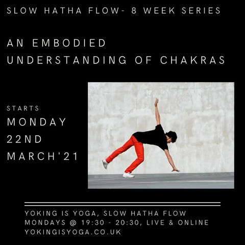 Monday evenings from March, 22nd - 8 week series