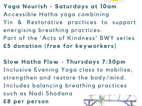 Current weekly online yoga sessions, look no further!  To sign up book online on yokingisyoga.co.uk
