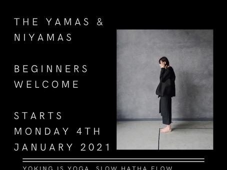 2021 YOGA ETHICS _ SLOW Hatha Flow MONDAYS