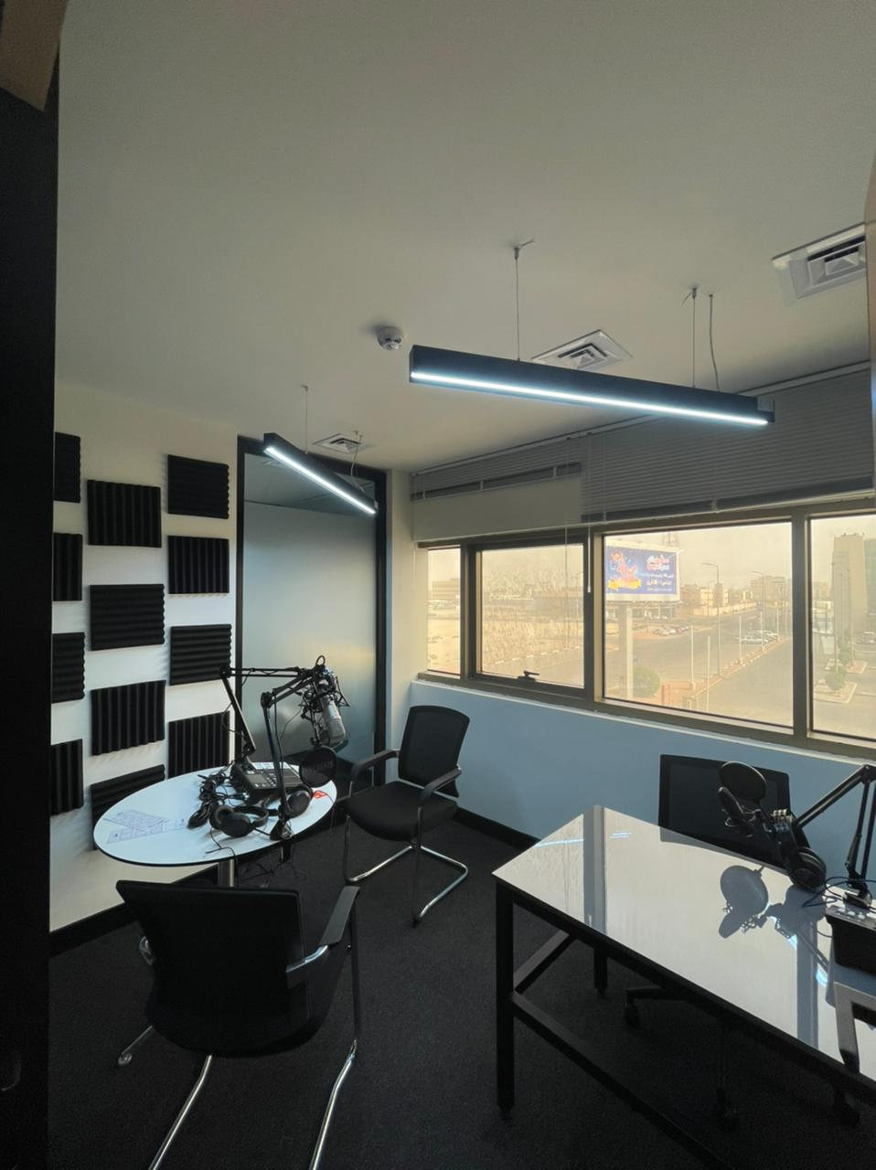 Podcast room
