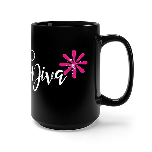 #VeriDiva* Black Mug 15oz