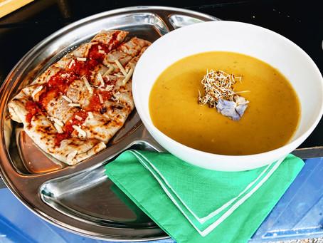 Vegan Crêpes und kulinarische Spezialitäten mittags bei der Volière