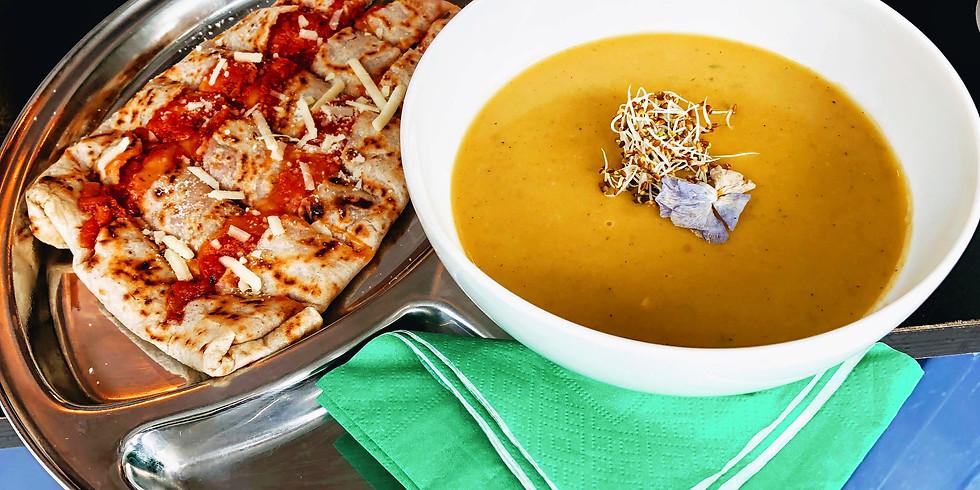Vegan Crêpes und kulinarische Spezialitäten