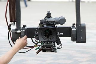 Caméra sur grue