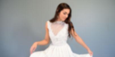 Joelene Art Deco Gown by Romantic Creations Bridal
