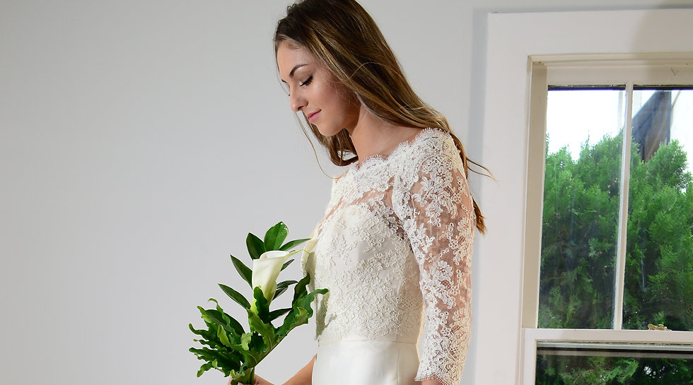 Romantic Creations Bridal Elegant, high fashion couture wedding dresses. Timeless custom bridal designs at Nashville bridal boutique, handmade by Maria Elena Bishop.  © 2021 Romantic Creations Bridal