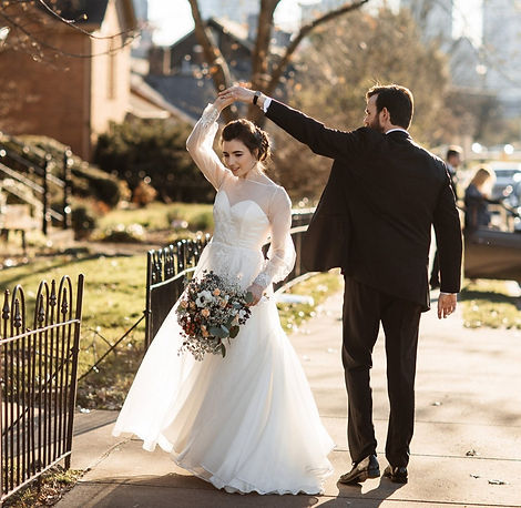 Romantic Creations Bridal shop for custom made wedding dresses