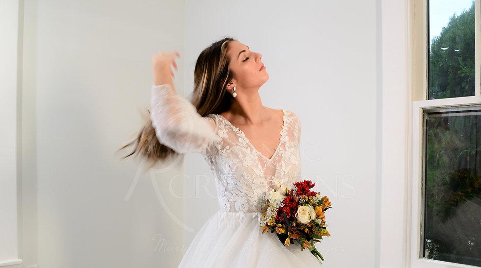 Romantic Creations Bridal store custom couture wedding dresses