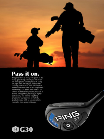 Ping Golf Legacy Campaign