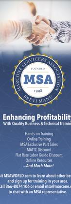 MSA Trade Show Banner