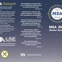 MSA Tri-Fold Brochure