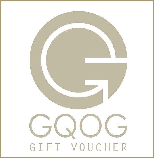 GQOG禮券($ 1000)