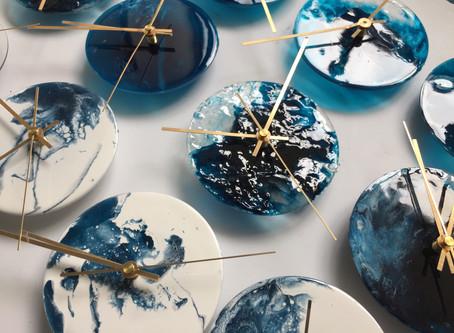 「將流動的藝術,永遠保留」- agape 樹脂畫藝術
