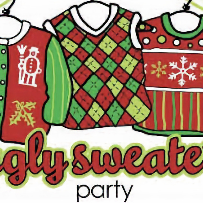 NYI Ugly Sweater Christmas Party in the Gym.