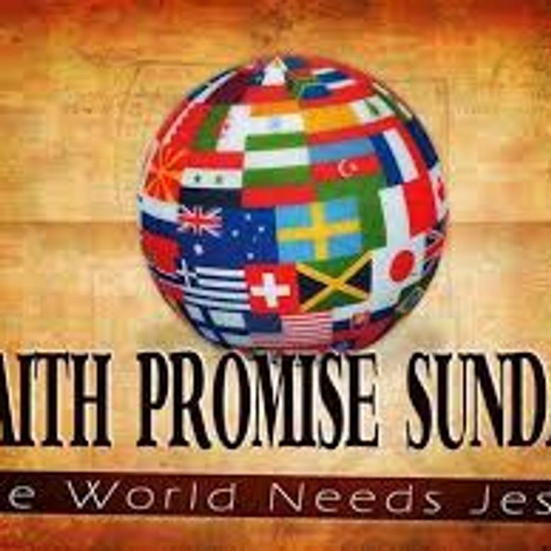 Faith Promise Sunday